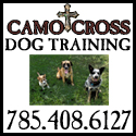 Camo Cross Dog Training